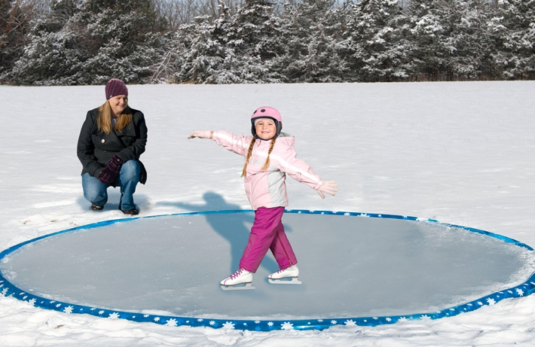 Inflatable 12 Ice Skating Rink