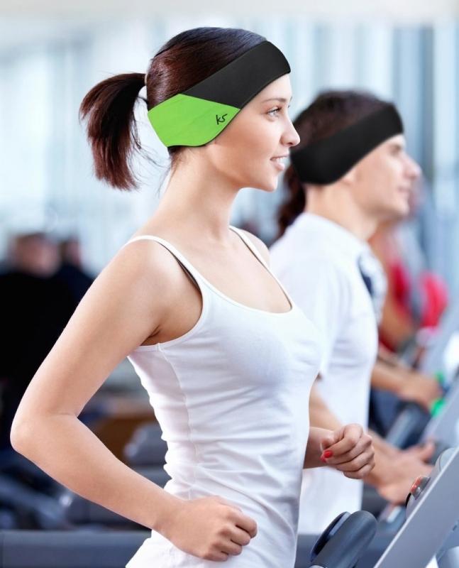 KitSound Sweat-Proof Audio Fitness and Sports Band