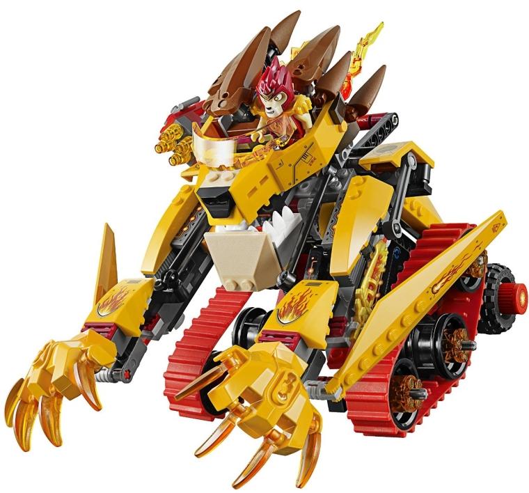 LEGO Chima  Lavals Fire Lion Building Toy