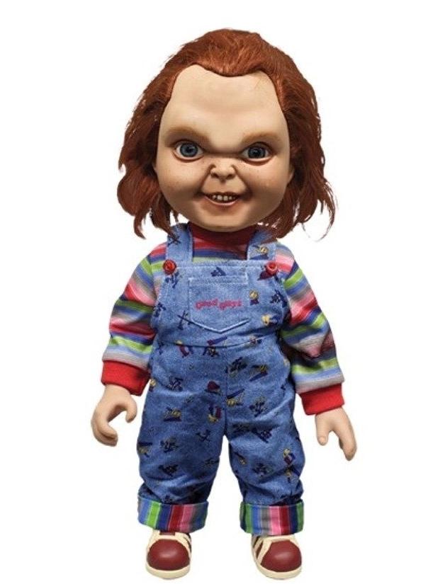 Mega Good Guy Chucky Action Figure with Sound