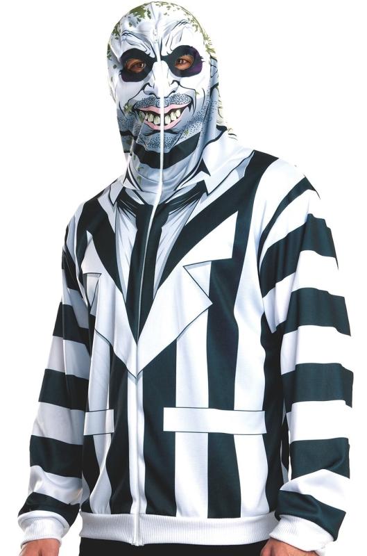 Men's Beetlejuice Adult Costume Hoodie
