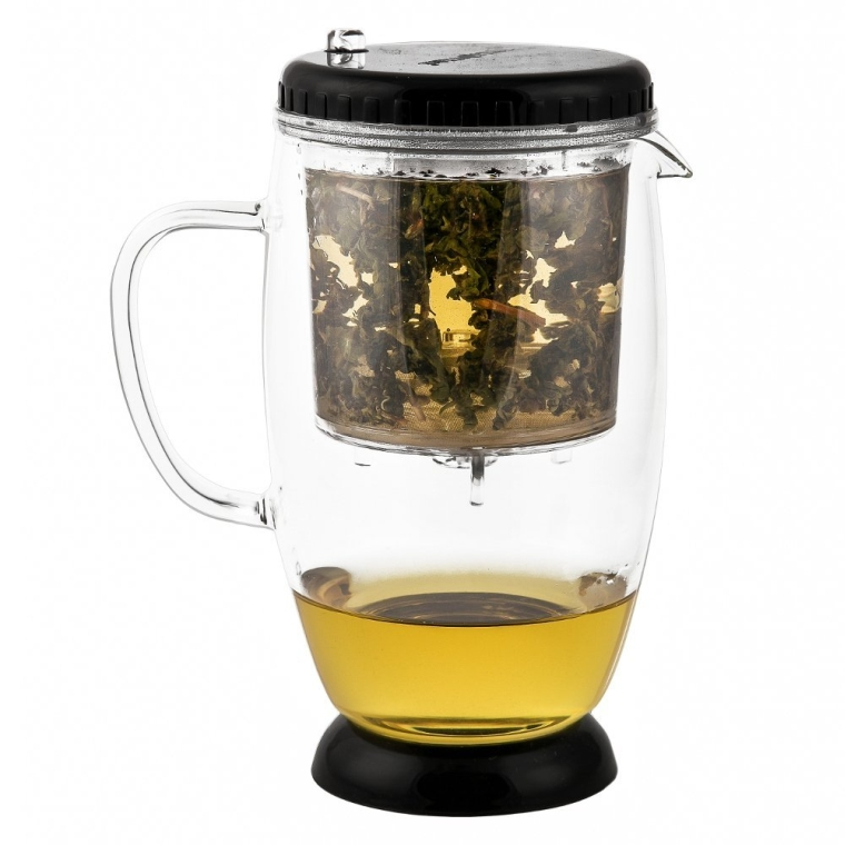 Over Cup Infuser with Glass Teapot