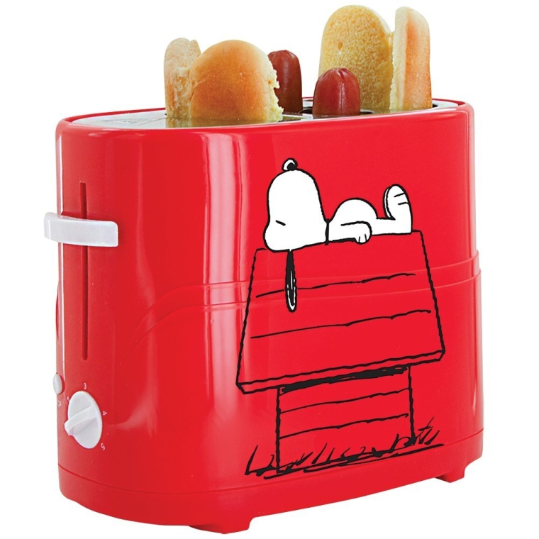 PEANUTS Snoopy Hot Dog And Bun Toaster