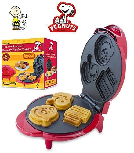 Peanuts Snoopy Charlie Brown Character Waffle Maker