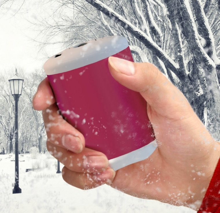 Rechargeable Double-Sided Hand Warmer
