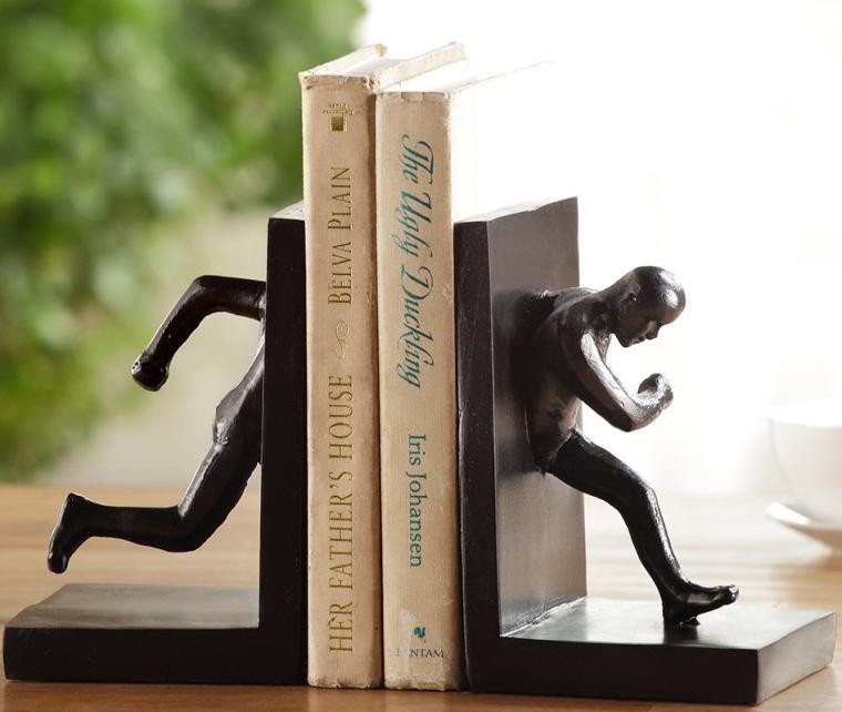 Running Man Bookends
