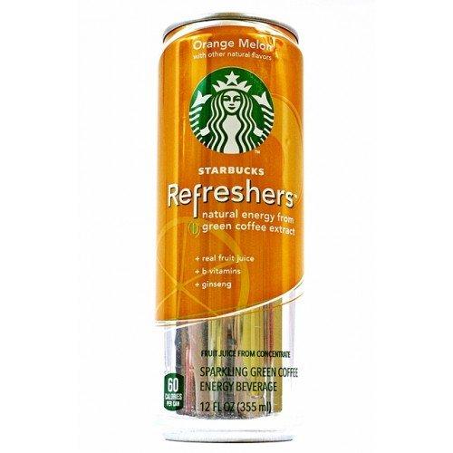Starbuck Refreshers Orange Melon Can Diversion Stash Safe