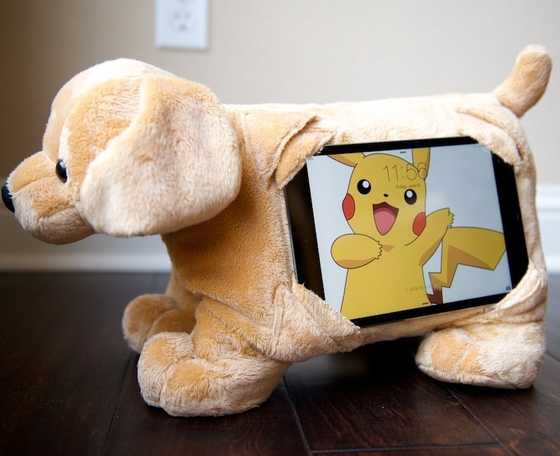 Stuffed Animal Tablet Case Cover Stand