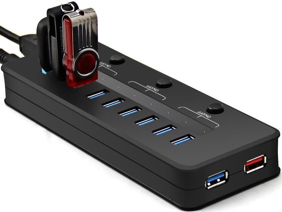 Super Speed 5Gbps 10 Port USB 3.0 HUB