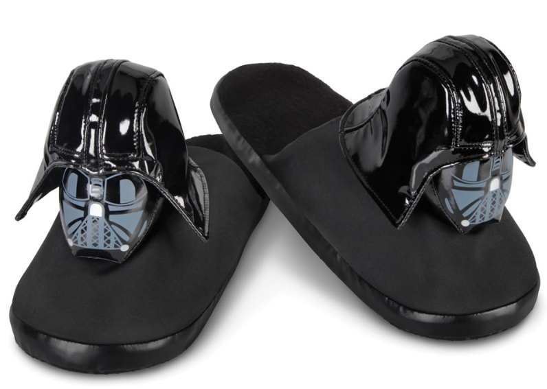 The Darth Vader Slippers