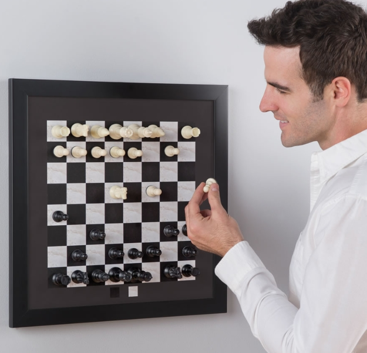 The Magnetic Chess Board