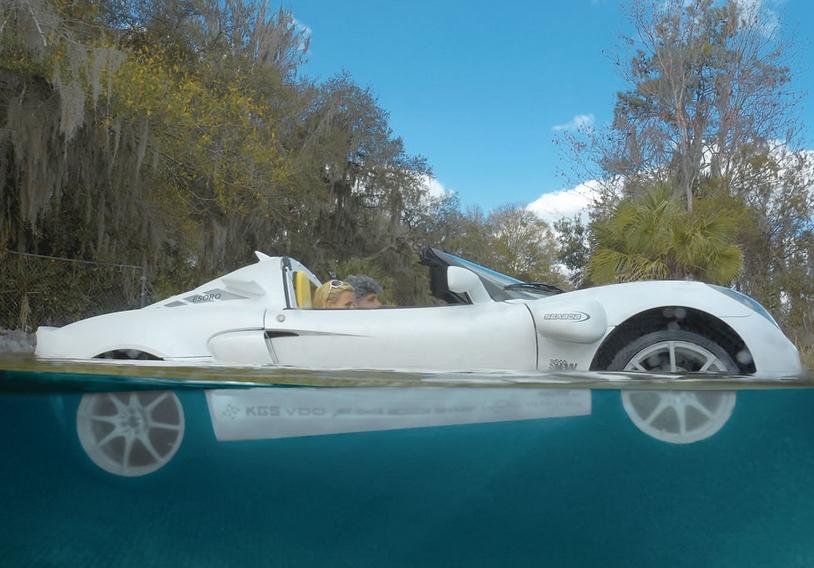 The Submarine Sports Car