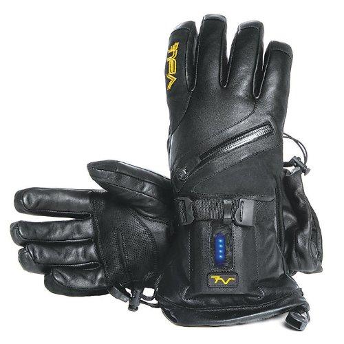 Waterproof Heated Leather Gloves