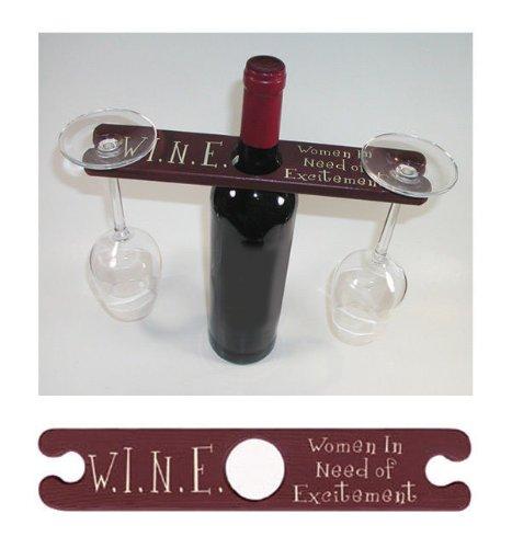 Wine Glass  Bottle Holder