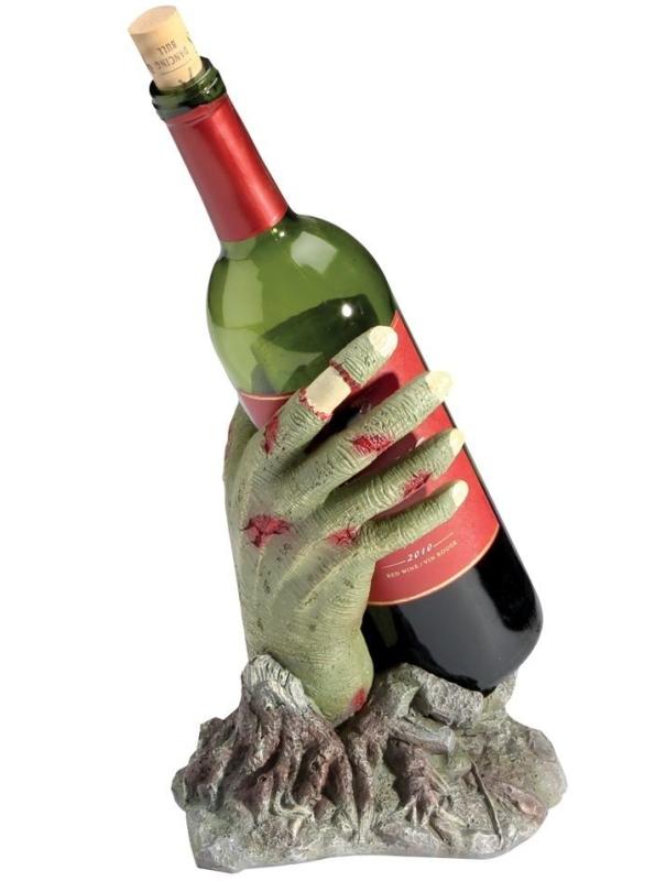 Zombie Hand Wine Bottle Holder