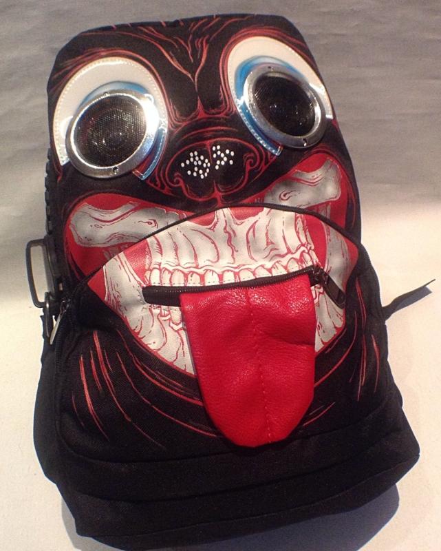 skull SPEAKER BAG