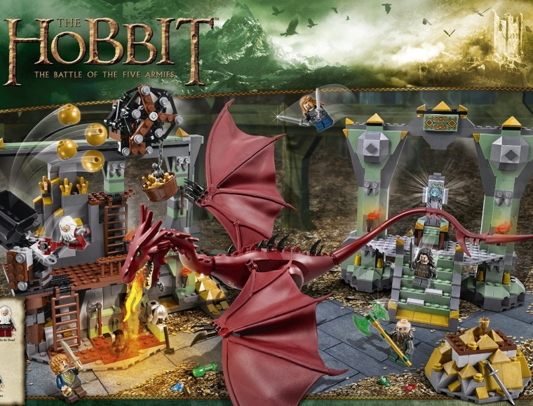 1LEGO Hobbit 79018 The Lonely Mountain