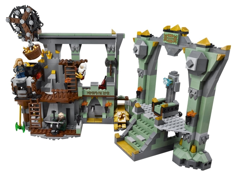 2LEGO Hobbit 79018 The Lonely Mountain