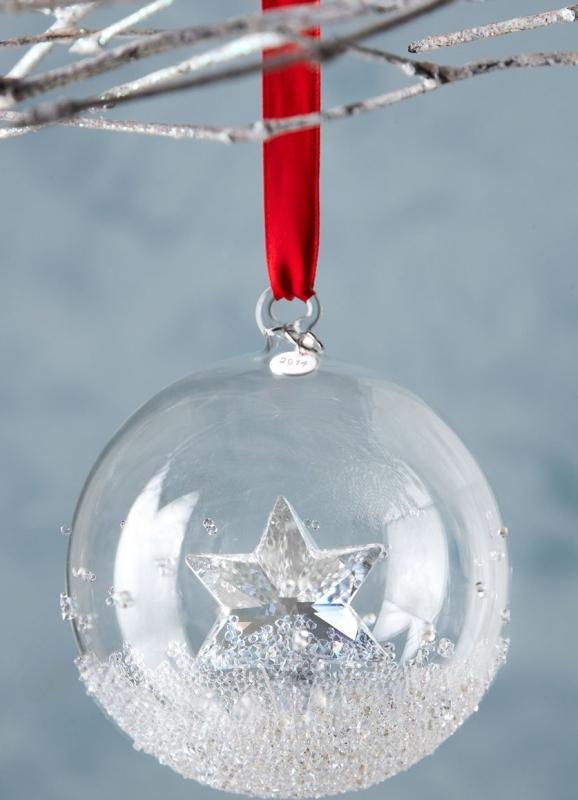 Annual Crystal Ball Christmas Ornament