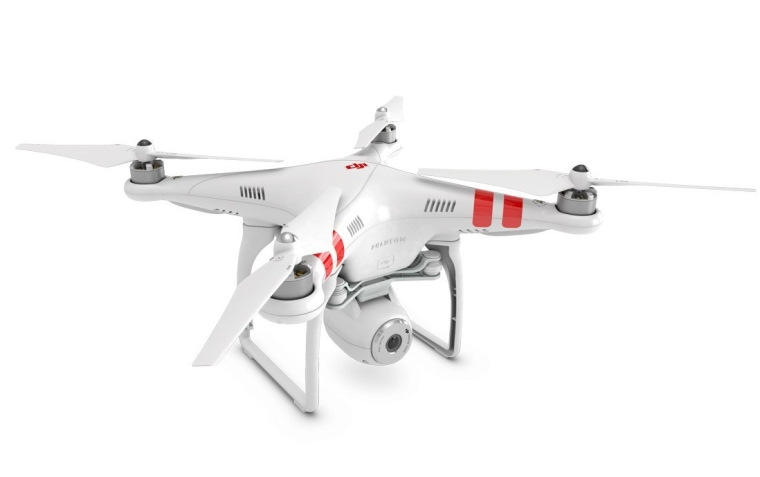 DJI Phantom 2 Vision Quadcopter with Integrated FPV Camcorder