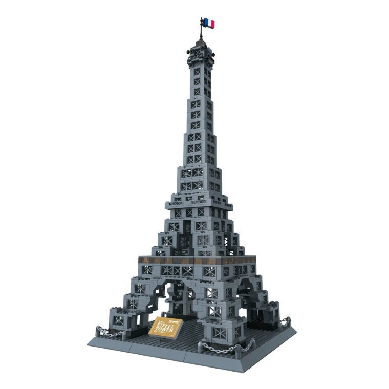 Eiffel Tower of Paris France  Building Blocks