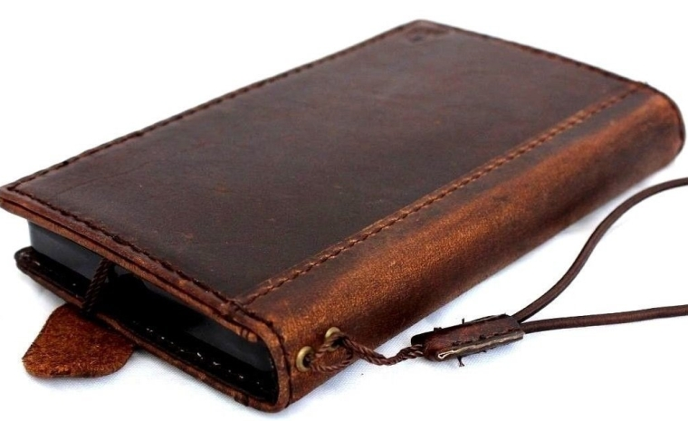 Genuine Italy Leather Case Fit for Iphone 6 Book Wallet