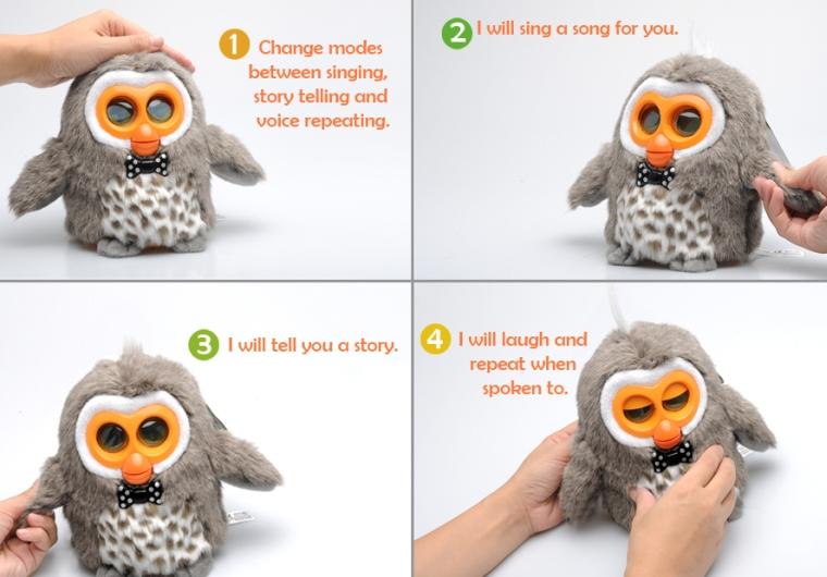 Hibou Owl Smart Electronic Toy