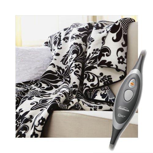 Microplush Electric Heated Throw Blanket