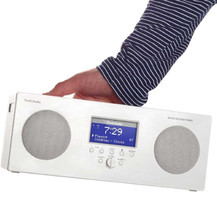 Music SystemThree Portable Hi-fi System