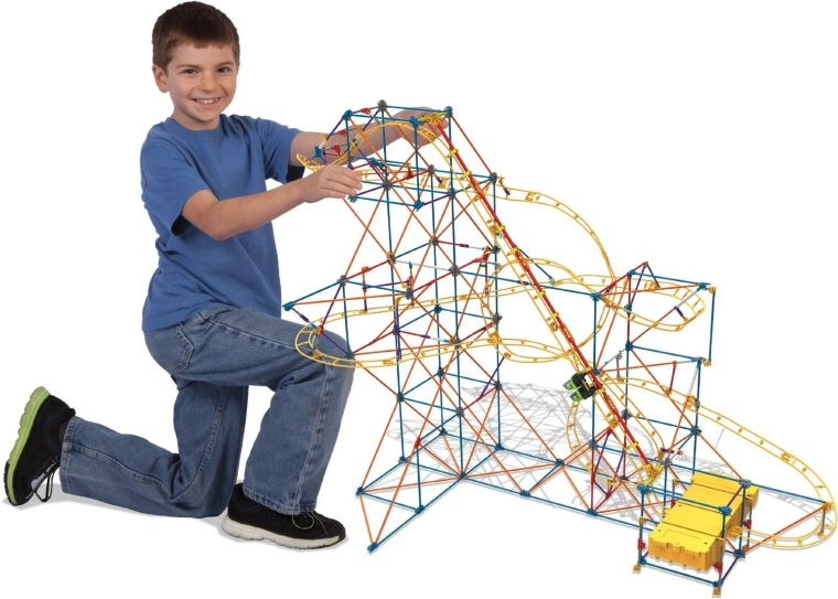 Roller Coaster Building Set