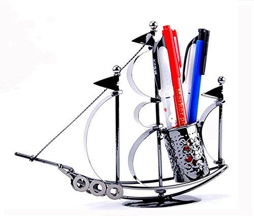 Sail Boat Ship Pen Organizer Desk