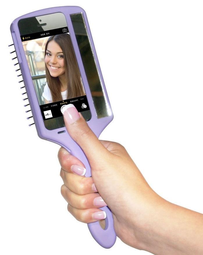 Selfie Pink Brush
