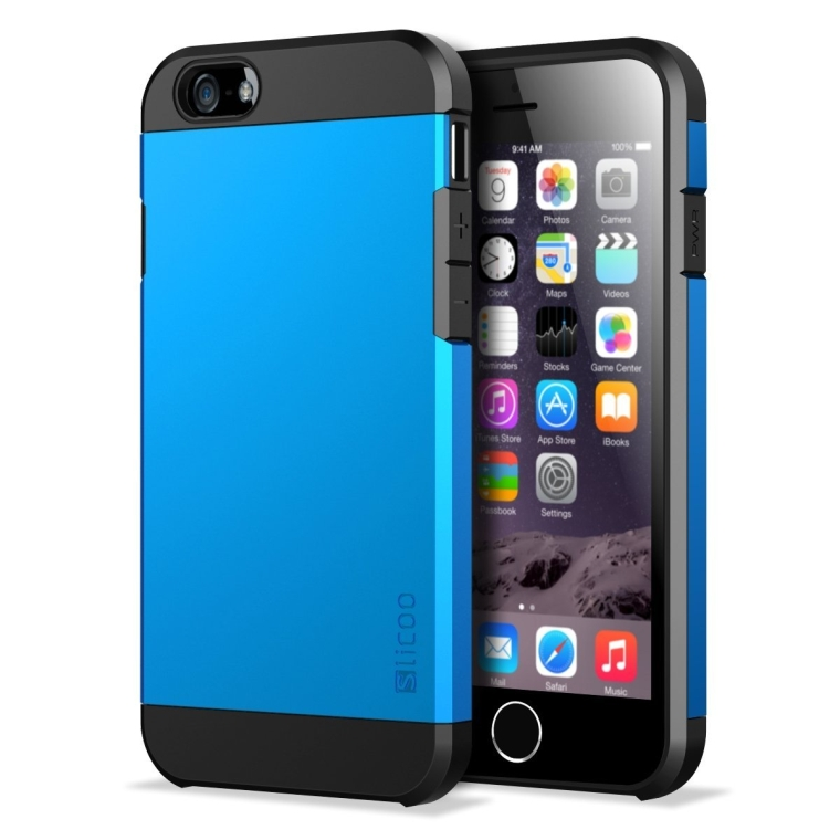 Slicoo Dual-layer Protection Cover Case for iPhone 6