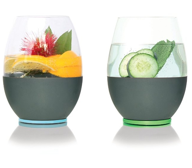 Stemless Wine Glasses That Stay Cold
