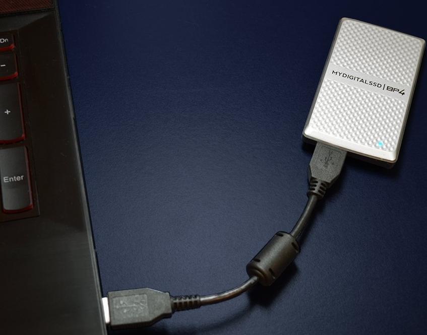 USB 3.0 mSATA SSD Enclosure Adapter