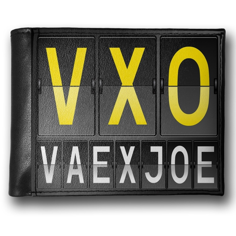 Wallet VXO Airport Code