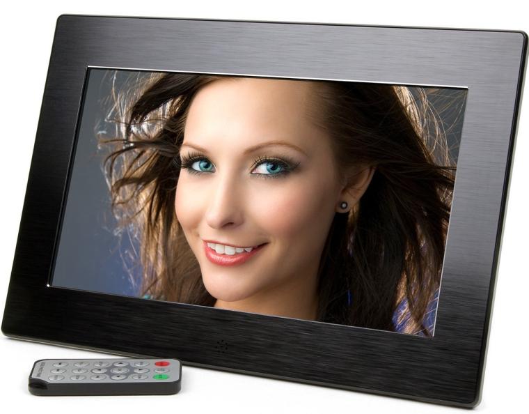 10.1-Inch Wide Screen High Resolution Digital Photo Frame