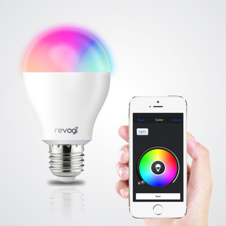Bluetooth 4.0 RGBW Smart 8W LED Bulb
