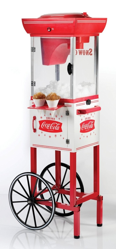 Coca-Cola Series COKE Snow Cone Cart