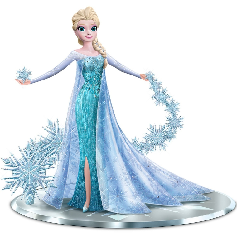 Disney FROZEN Elsa the Snow Queen with Swarovski Crystals