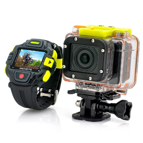 Full Hd Action Camera 'Eyeshot' with Wi-fi and Watch Remote Control