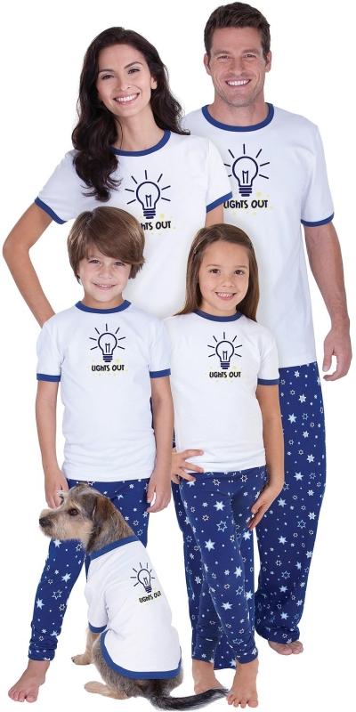 Glow-in-the-Dark Matching Pajamas