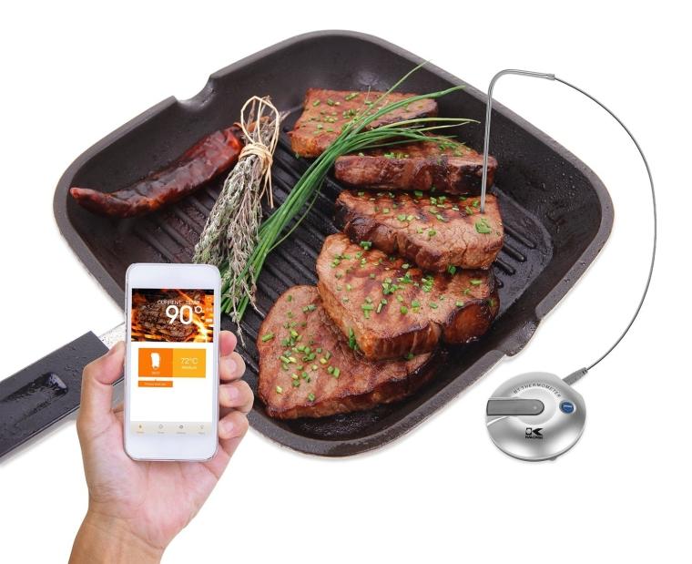 Kalorik Wireless Bluetooth Food Thermometer