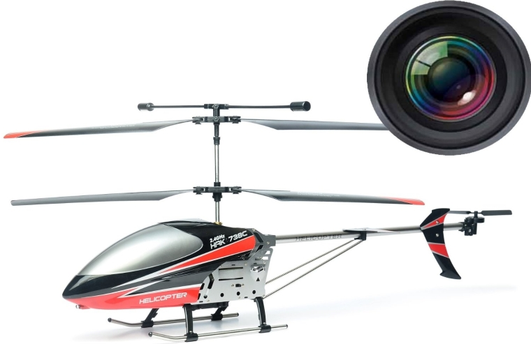 Large 30 Video & Photo Camera 3.5CH Helicopter