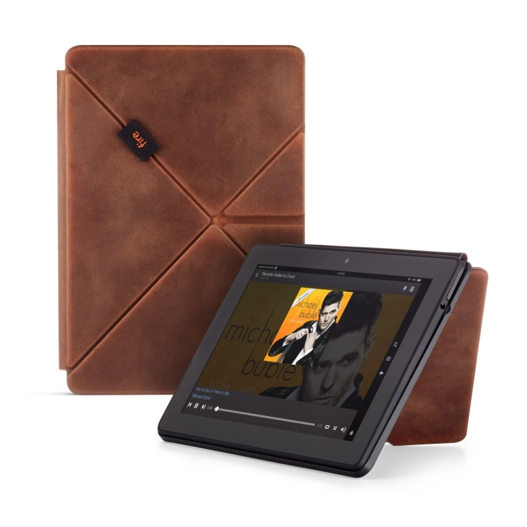 Limited Edition Premium Leather Origami Case for Fire HDX 8.9