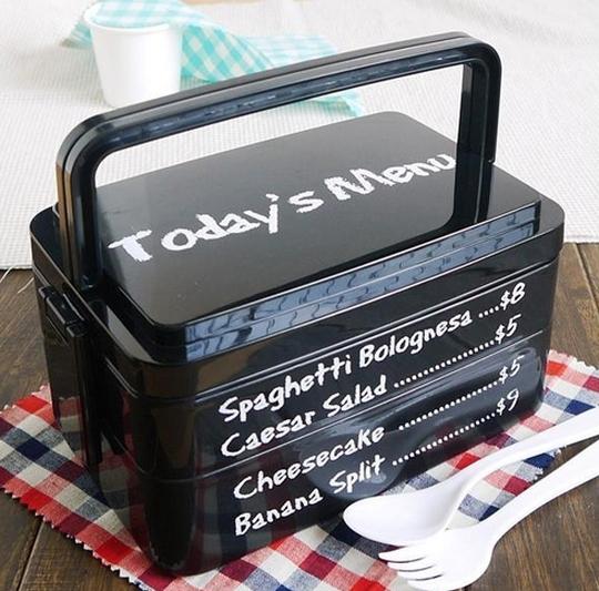 Menu Lunch Box