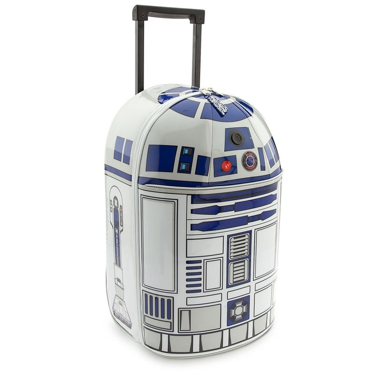 R2-D2 Light-Up & Sound Rolling LuggageCarry On Suitcase