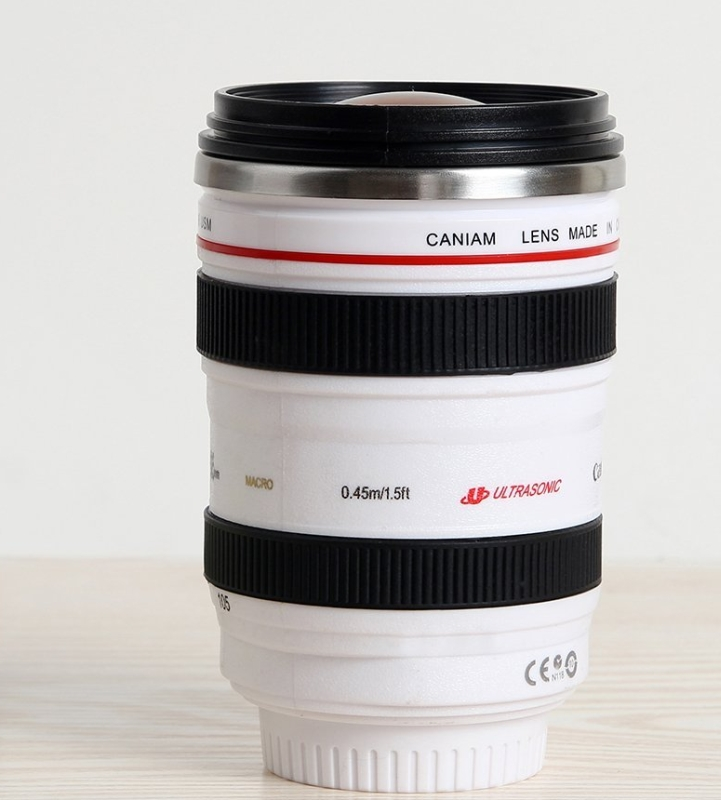 SLR Lens 24-105mm Travel Coffee Mug