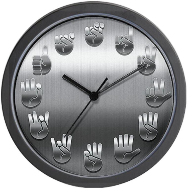 Signed Wall Clock