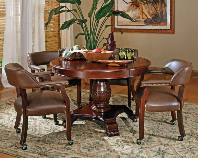 Tournament Game Table Brown
